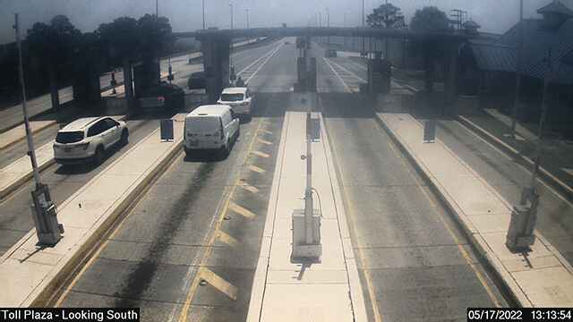 North Toll Plaza - Looking South